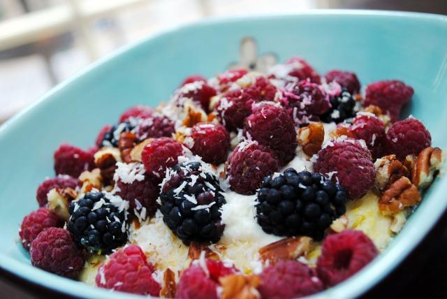 Berries on top!