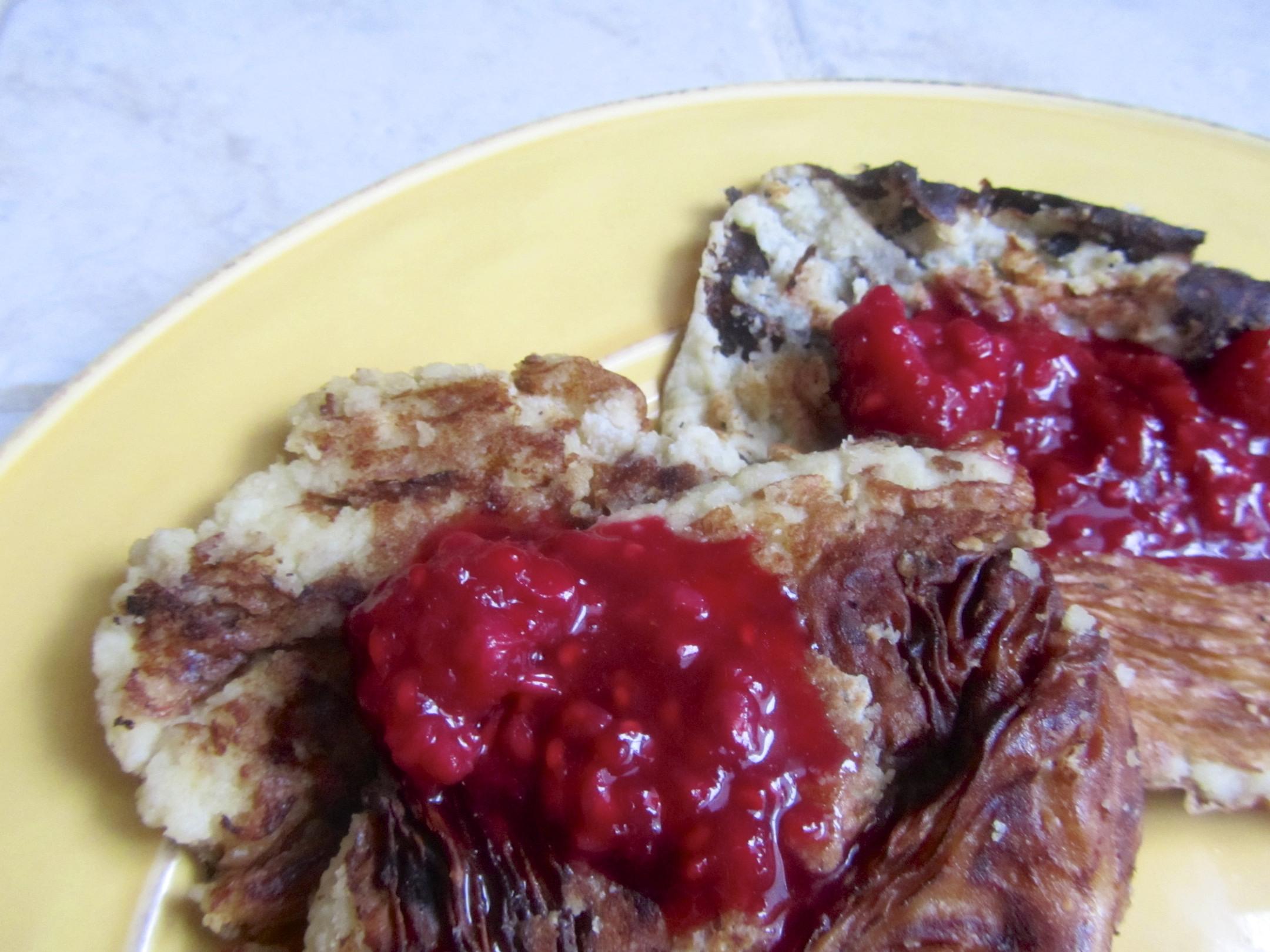 Almond Meal Pancakes