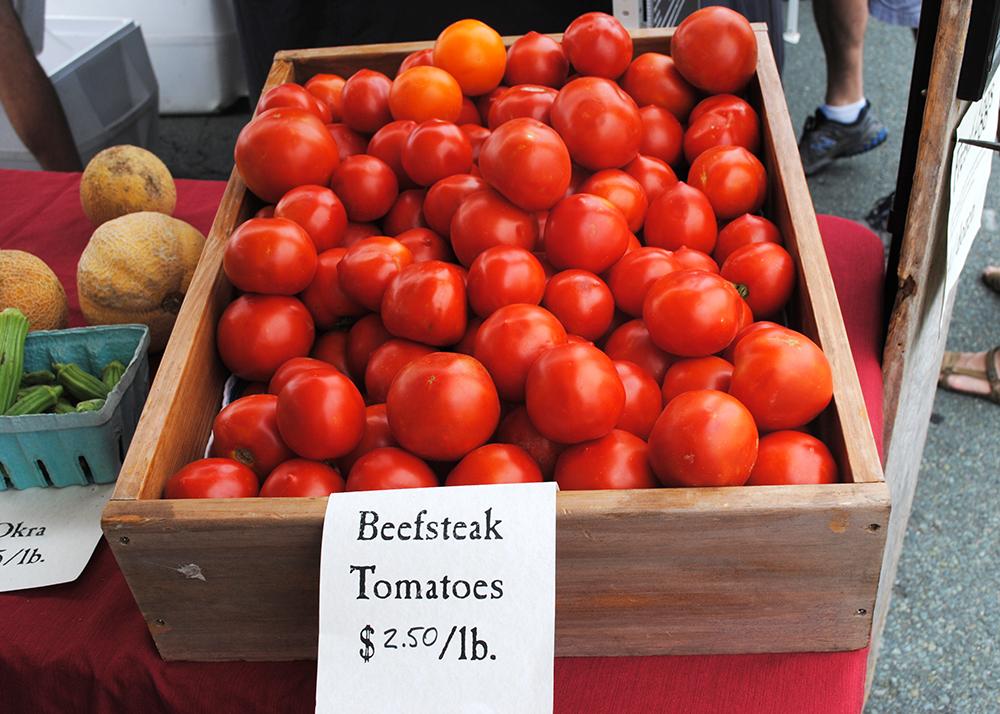 Market tomatoes