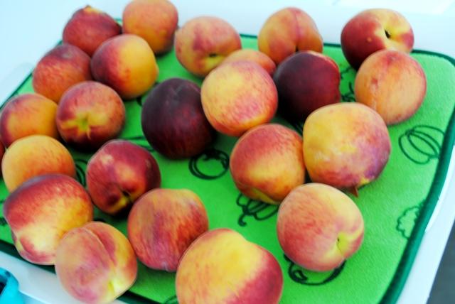 so many peaches