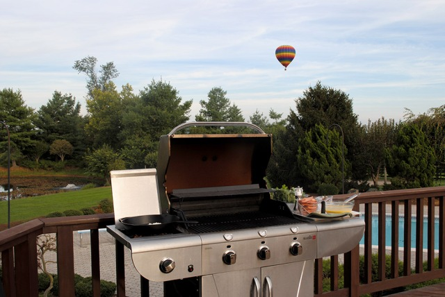 balloon and grill